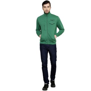 Freak'N Green Collar Sweatshirt for Men