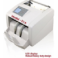CURRENCY COUNTING MACHINE WITH DETECTION UTILITY , MODEL - E1A