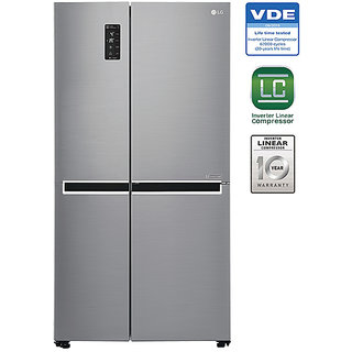 Buy Lg 687 L Frost Free Side By Side 5 Star Refrigerator Gc