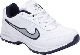 Aero Fax Man'S White Sport Shoes