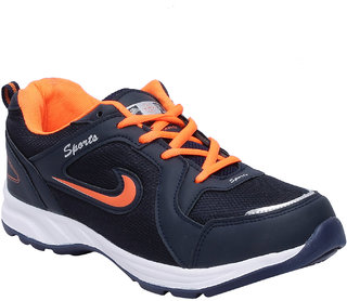Aero Fax Man'S Orange Sport Shoes