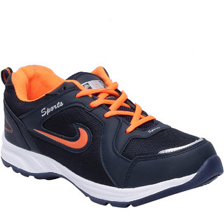 Aero Fax Man'S Orange Sport Shoes