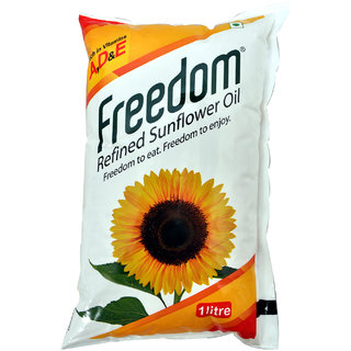 Freedom Sunflower Oil Pouch, 1 L