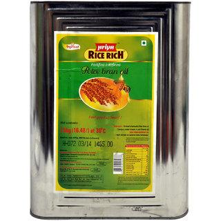 Priya Rice Rich Oil Tin, 15 Kg