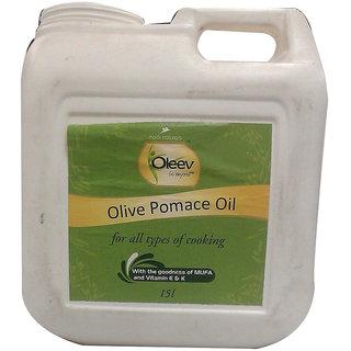 Oleev Olive Oil Pomace, Jar 15 L