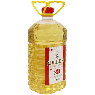 Miller Canola Oil Bottle 5 L