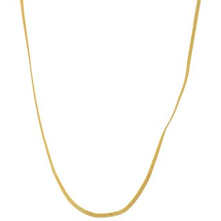 Beadworks Gold Plated Chain for Women (Chain-06)