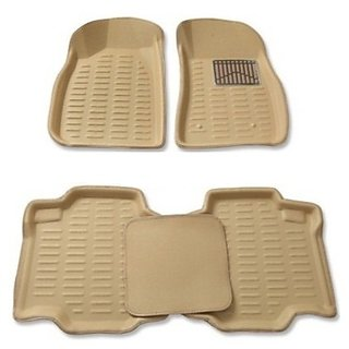 MP Car 3D Floor Mat For Skoda Rapid