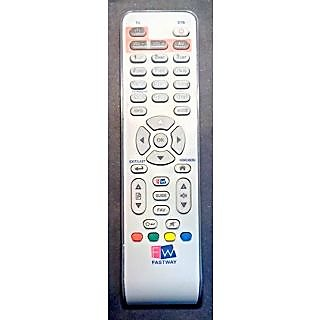 Fastway (FW) dth cable white box 100 orignal remote with tv