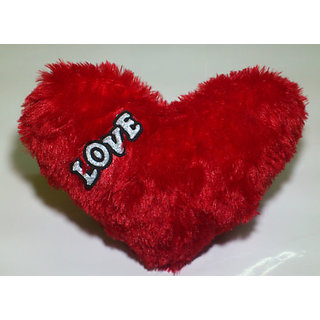 Heart Shape Love Soft Teddy Bear Cushion Pillow Anniversary Birthday