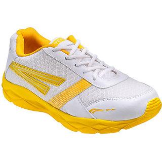 Yepme Kronos Sports Shoes - White & Yellow