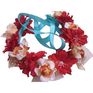 Colorful Floral Tiara