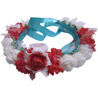 Colorful Floral Tiara