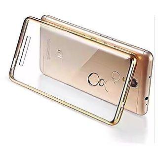 Silicon gold Bumper case for / redmi note 3