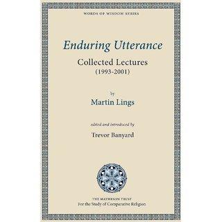 Enduring Utterance
