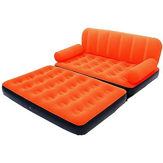 buy 5 in 1 air sofa cum bed air lounge inflatable 5in1. Black Bedroom Furniture Sets. Home Design Ideas
