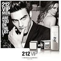 Carolina Herrera 212 Vip Men 100 Ml For Men Perfume Free Mini Perfume