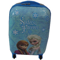 16inch Kids FR Traveling Trolly Bag - Blue 107