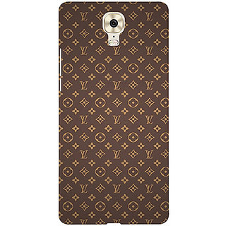 Casotec Vuitton Pattern Design 3D Printed Hard Back Case Cover for Gionee M6 Plus