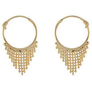 9blings Retro Collection Gold Tone Earring
