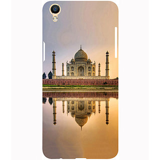 Casotec Taj Mahal Design 3D Printed Hard Back Case Cover for Oppo F1 Plus