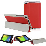 Magnetic Smart Stand Case Cover For 2013 Asus Google Nexus 7 Fhd 2nd Red