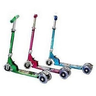 Foldable Kids Scooter Cycle 3 Wheel Scooter Height Adjustable Kids Hand Brake