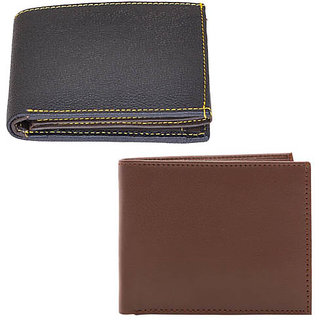 JARS Collections Set of 2 Leather Wallets