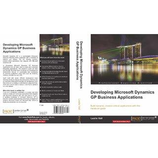 Developing Microsoft Dynamics GP Business Applications