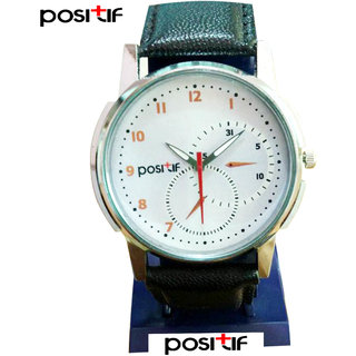Positif Analog Round Casual Wear Watche For Men Positif-0010