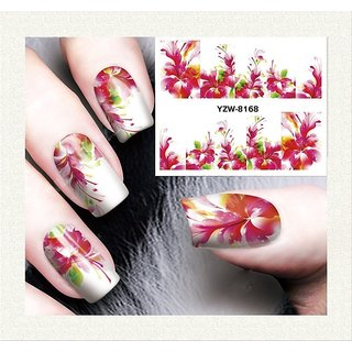 BUYALY Nail Art Water Transfer Sticker - DIY