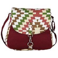 Vivinkaa Multi Printed Handbag