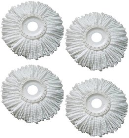 Evershine Easy Mop White Mop Pack of 4