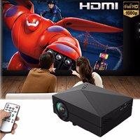 GM60 Mini Portable Home Cinema Theater LED Projector HD 1080P HDMI AV USB VGA SD