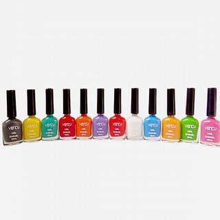 vency nail polish 10 ml pack of 12