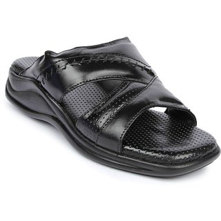 Liberty Coolers Men Black Slip On Sandals