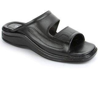 Liberty Coolers Men Black Slip On Sandals