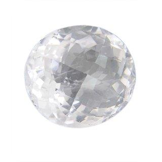 7.25 Ratti Natural WHITE Topaz ,Substitute of WHITE Sapphire