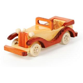 Wooden Vintage Car