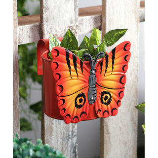 Butterfly Pot Red