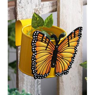Butterfly Pot Yellow