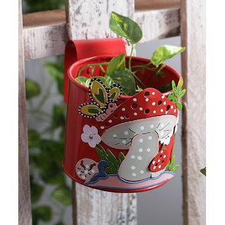 Mushroom Pot Red