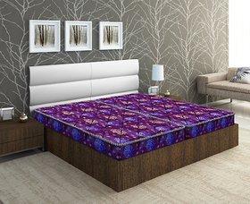 bellz single  foam mattress 4inch coloured combo offer pack of 2