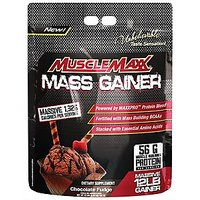 Musclemaxx Mass Gainer, 12 Lbs, Chocolate Fudge