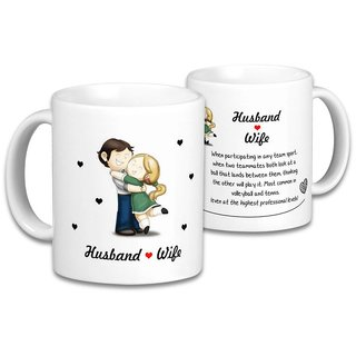 The Husband  Wife Mugs