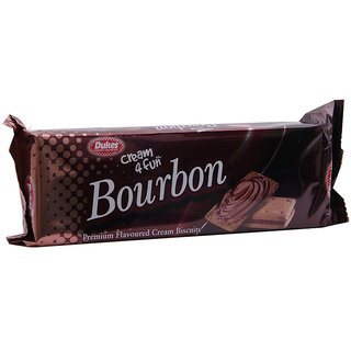 Dukes Cream 4 Fun Biscuits Bourbon, 150 g