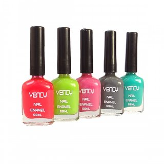 vency nail polish 10 ml pack of 5