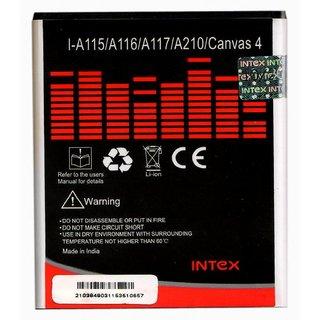 Intex A115/A116/A117/A210/Canvas 4 Battery for Micromax Canvas (1700 mAh)