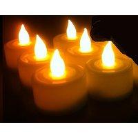 Maxtop LED Set of 6 Tea Light Candle