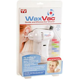 Wax Vac Ear Cleaner Clean Your Ears Easily Remover Amazing New Waxvac Seen on Tv